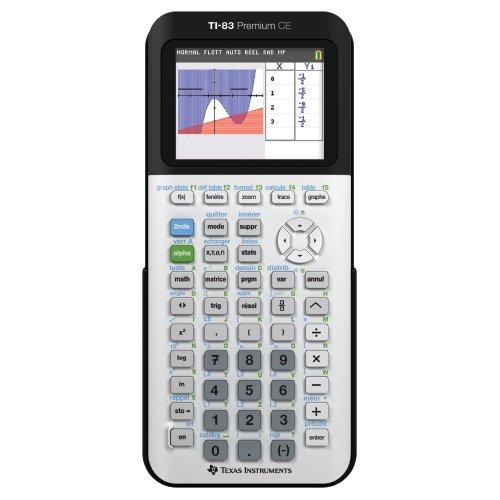 TI-83 Premium CE – Calculatrice graphique –...