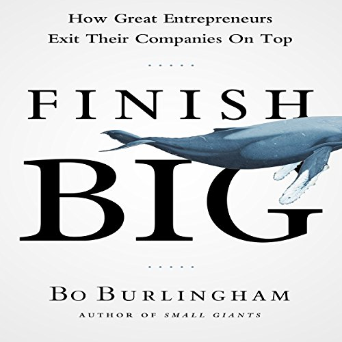 Finish Big audiobook cover art