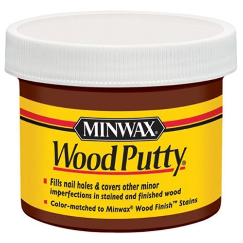 Minwax 13617000 Wood Putty, 3.75 Ounce, Walnut