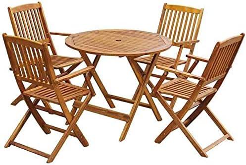 Special Campaign YJYDD Outdoor Dining Sets 5 Patio Piece Furniture sale Garden