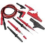 Aidetek multímetro con punta puntas de prueba TL809para Fluke multímetro probador, T20159, 1