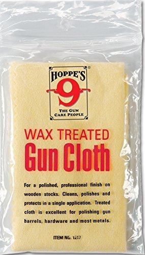Wax Treated Gun Cloth - Hoppes 1217, Firearm Accessories...