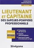 Concours de lieutenant et de capitaine des sapeurs-pompiers professionnels