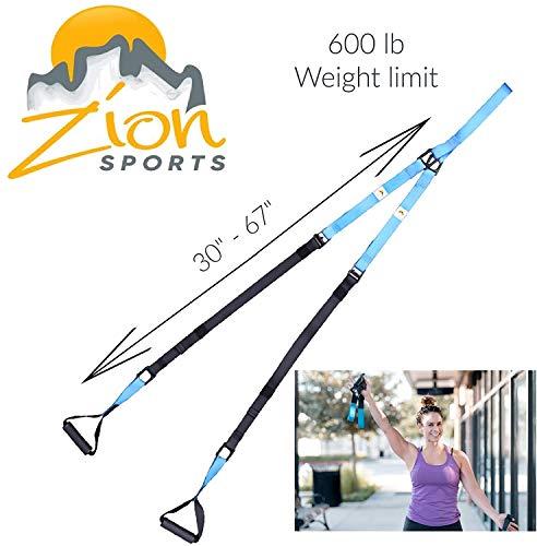 Bodyweight Resistance Suspension Training Straps