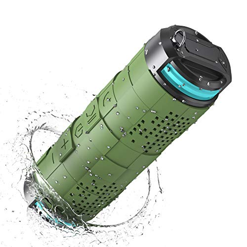 IPX7 Portable Bluetooth Speaker, LEHII Wireless Speaker with Crystal Clear Sound, Enhanced Bass, 24H Playtime, 360° Full Surround Sound, 20W Dual High Performance Drivers, Waterproof Speaker for Home