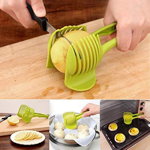 Voiks Vegetable Slicer Cutter Food Slicer, Multifunctional Fruits Slicer, All-in-One Vegetables Cutter...