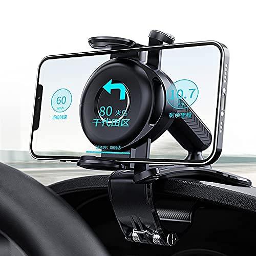 [2021 Evolutionary Version Super Estabilidad] Smartphone coche clip coche montaje teléfono móvil Descripción operación con una sola mano