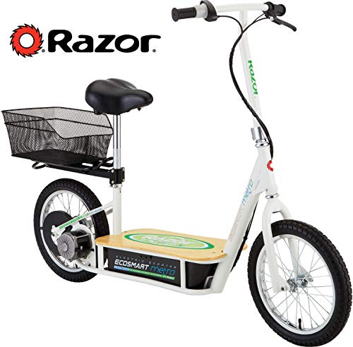 Our #5 Pick is the Razor EcoSmart Metro Electric Scooter