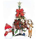 ZHongWei - Corona de Navidad árbol de Navidad, pequeño, decoración de la Mesa, 60cm Arboles de Navidad