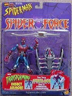 cyber spider man action figure
