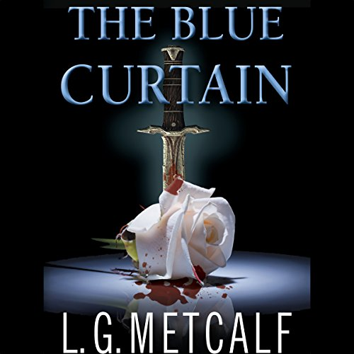The Blue Curtain  By  cover art