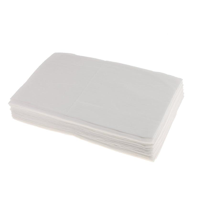 傑作永続密SONONIA 10枚 使い捨て ベッドシーツ ベッドパッド カバー 妊産婦 生理期間 スキンケア 美容院 サロン ホテル 2色選べ - 白