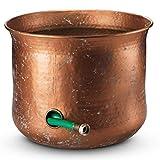 LifeSmart Decorative Garden Hose Holder Water Hose Storage Pot Outdoor or Indoor Use Updated for November 2020