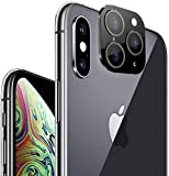 BYLKO Single/Dual Camera Lens Cover for iPhone X/XS/XS Max, HD Scratch Proof Metal Aluminium Camera...