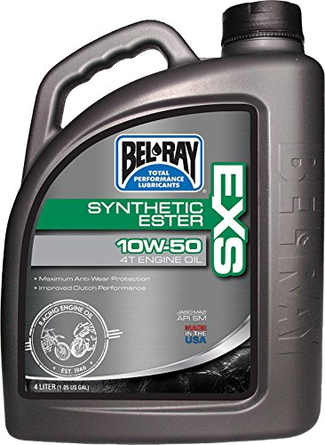 Bel-Ray 99160-b4lw EXS Full sintética Ester 4T en Gine aceite 10W-504-liter (99160-b4lw)