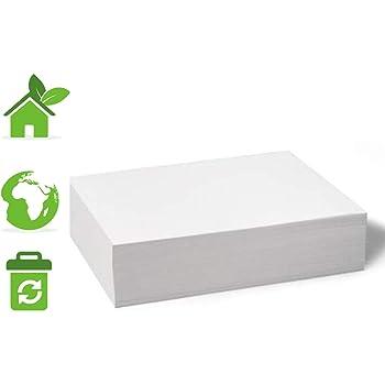 Papel Bond Reciclado Ecologico 500 hojas tamaño carta 1 paquete de 500, Excelente Blancura Papeleria Ecologica