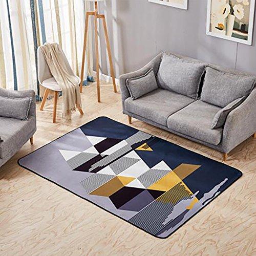 Creative Light Modern Geometric Home Rectangular Carpets Living Room Table Basse Chambre à Coucher Manteaux de Chevet (Taille : 160cm*230cm)