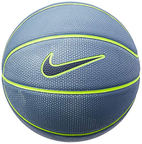 Bola de Basquete Swoosh Mini Nike 3 Armory Blue/Volt