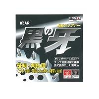 バクマ工業 草刈チップソー 黒の牙 軽量型 230x36P 箱入