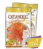 Cataholic Neko Chicken Jerky Sliced Cat Treat, 30 g Pack of 2