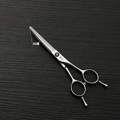 ZGQA-GQA Tijeras de peluquería Acero Inoxidable 440C cortadora de Cabello, 5,5 Pulgadas Pelo Peluquero Profesional Clipper Alto Grado Las Tijeras de Plata (Color: Plata)