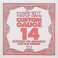 【正規品】 Ernie Ball バラ弦 14 ゲージ 6本セット #1014