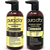 PURA D'OR Advanced Therapy System Biotin Shampoo & Conditioner (473 ml x 2)