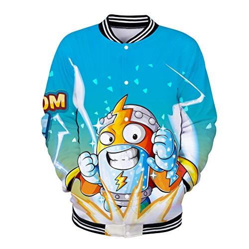 Superzings Equipaje Otoño Cálido Sweatshirt Protección de frío Outwear Mujer Comfort Jacket...