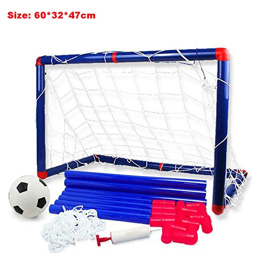 Objetivos de fútbol, portátil desmontable, juego de deporte para niños al aire libre de bricolaje Juego de puerta de fútbol desmontable Juego de fútbol Juego de fútbol Juego de fútbol Fútbol