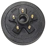 LIBRA One New 10' X 2-1/4' Trailer Brake Drum 5 on 4.5' B.C. for 3500 Lbs Axle - 22001