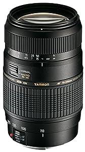 Tamron A17E - Objetivo para Canon (70-300 mm, f/4-5.6, Macro, AF, 62 mm), color negro