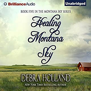 Healing Montana Sky audiobook cover art