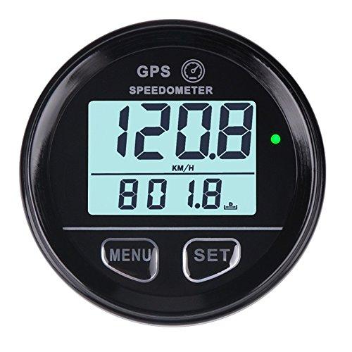 60-mm-GPS-Tachometer / Kilometerzähler, wasserdicht mit Hochgeschwindigkeitsrückruf, für ATV, UTV, Motorrad, Auto, Kfz.