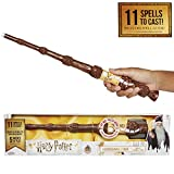 HARRY POTTER Varita Magica con Hechizos Interactive Wizard Wand Exclusive Wave Dumbledore 38 cm, Multicolor, Talla única (Elbenwald 73212)