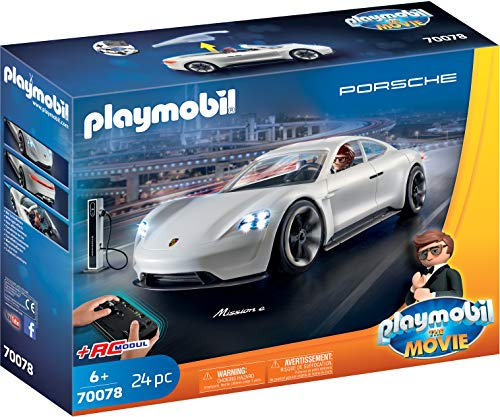 PLAYMOBIL:THE MOVIE 70078 Rex Dasher\'s Porsche Mission E, Ab 6 Jahren