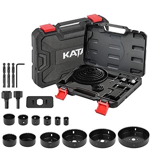 KATA 18PCS Hole Saw Kit 3/4