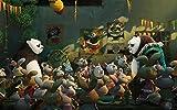 Zheng Adultos Puzzle 1000 Piezas Puzzles Kung Fu Panda-Panda Hero Y Su Padre - Puzzle Regalos Para Personas Mayores Juegos De Rompecabezas Para La Damilia Decoración Del Hogar 50X70 Cm