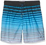 Billabong Jungen Badeshorts Fraction LB, Blue, 12, N2LB21 BIP9 20