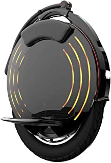 LJHHH Electric Unicycle,Balance Car High Fidelity Bluetooth Audio with LED Light,Adult Off-Road Single-Wheel Balance Car Outdoor Sports