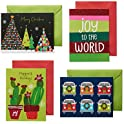 20-Count American Greetings Festive and Bright Christmas Boxed Cards