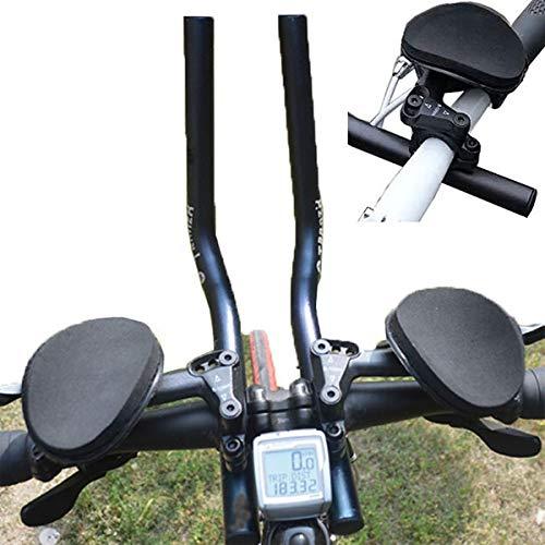 T-6061 Bike Rest Handlebar for Bicycle Aerobars, Moutain Bike or Road Bike