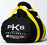 PKB Kettlebell Set - The Best Exercise Equipment for Your Workout - Adjustable Kettlebells - Portable Weights - Soft Kettle Bell - Weight Set for Fitness - Satisfaction Guarantee! (Yellow, 0-15 lbs)