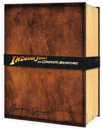 Indiana Jones The Complete Adventures (Limited Edition Collectors Set) Blu-ray