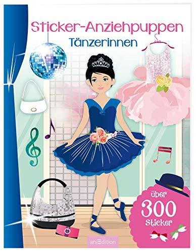 Sticker-Anziehpuppen Tänzerinnen: Über 300 Sticker   Coole Styles für Modefans ab 5 Jahren