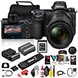Nikon Z 6II Mirrorless Digital Camera 24.5MP with 24-70mm f/4 Lens (1663) + 64GB XQD Card + Corel Photo Software + Case + HDMI Cable + Card Reader + Cleaning Set + More - International Model (Renewed)