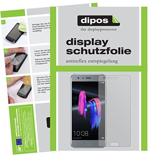 dipos I 6X Schutzfolie matt kompatibel mit Huawei Honor 9 Folie Bildschirmschutzfolie