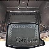Car Lux AR04444 - Alfombra cubeta Protector Cubre Maletero a Medida con Antideslizante para Ateca