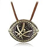 Doctor Strange Halskette mit Eye of Agamotto Anhänger (Bronze)