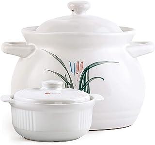 Olla de sopa de estofado resistente a altas temperaturas Olla de cerámica Olla de sopa Olla de gas de llama abierta para el hogar