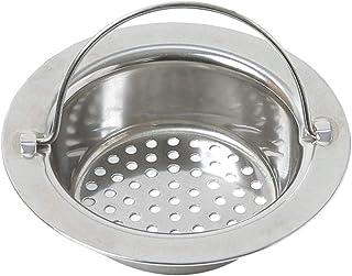 Rrunzfon reutilizaci/ón de Acero Inoxidable se Hunde Filtro de desperdicios de Cocina Filtro de Basura tap/ón de Filtro Strain